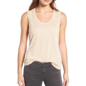 Trouve Draped Tank - Dark Grey - Size XS - NWOT